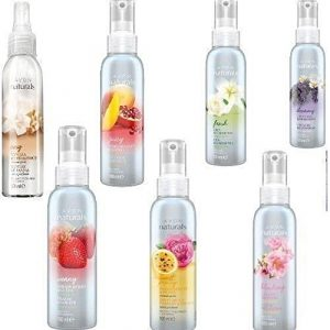 Avon Naturals Scented Spritz Room Linen Home Spray - Mixed Fragrances, Multi, 100 ml each (Pack of 5)