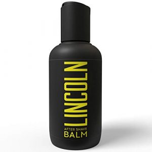LINCOLN Aftershave Balm For Men - Mens Aftershave Balm to Prevent Razor Burns & Promote Skin Hydration - All Natural Aftershave Men - Enriched with Aloe Vera, Vitamin E & Chamomile Extract - 150 ml