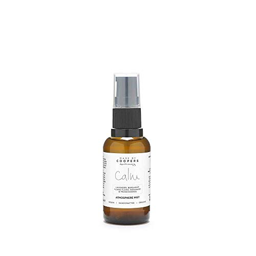 Made By Coopers Calm Natural Room, Linen & Pillow Sleep Spray with Essential Oils Lavender, Bergamot and Ylang Ylang (30ml)