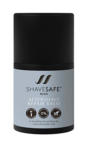 ShaveSafe After Shave Cream Balm for Men - After Shaving of Face, Scalp and Neck Application - 50 ml